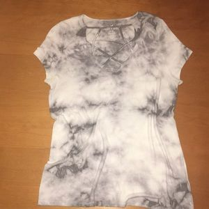 American Eagle soft and sexy cross front top M